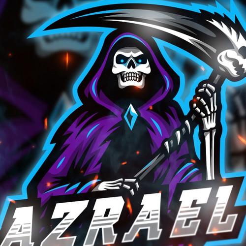 Azrael Mascot Logo