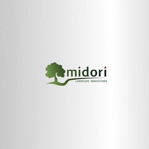 Landscape, real estate, tree logo