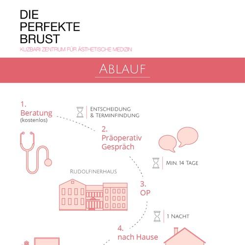 Simple graphic for medicine center