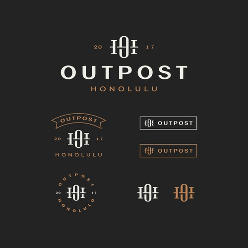 Monogram Design for Outpost