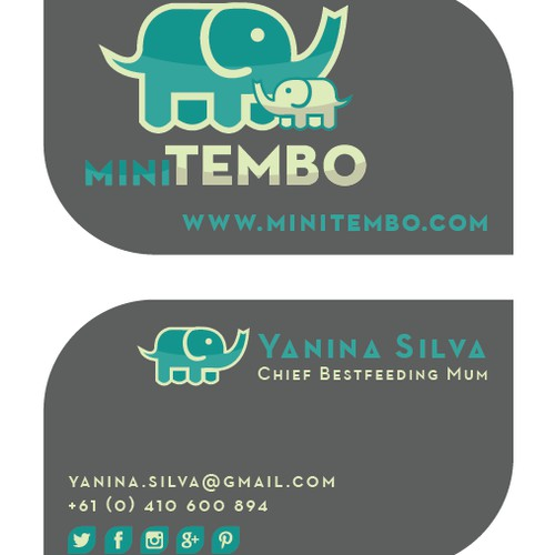 Business card for MiniTembo