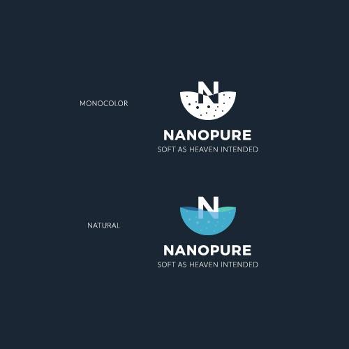 NANOPURE - logo concept