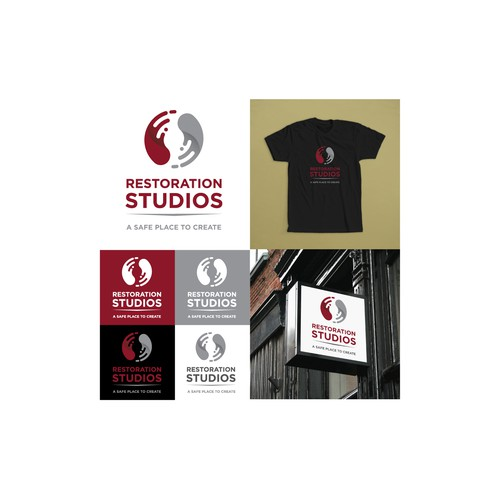 Logo concept for a Multimedia studio