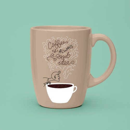 Design for coffee cup