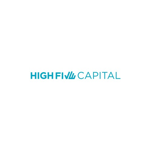High Five Capital - investment firm - geometric/abstract logo of two hands high fiv'ing, we are open to clean/simple alt