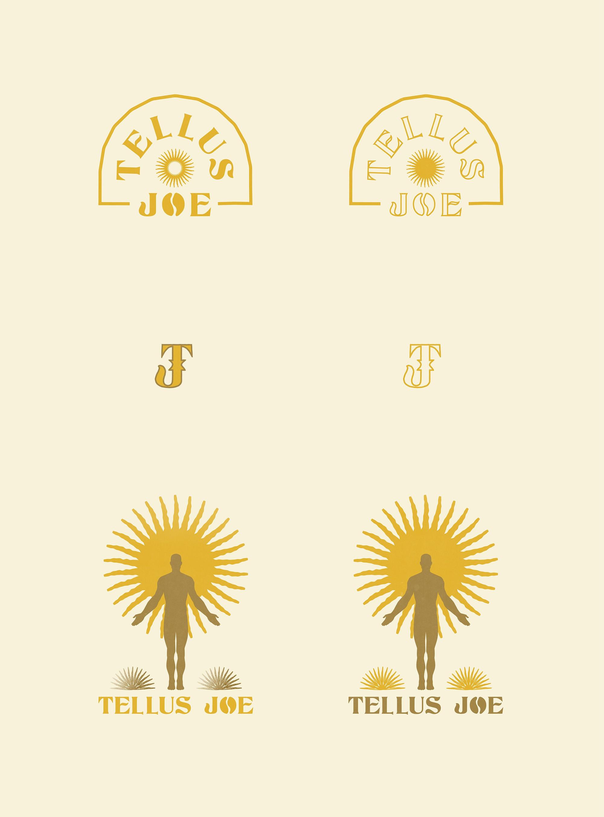 Tellus Joe: Logo, Brand Identity, Packaging, Merch, Possibly Everything :)