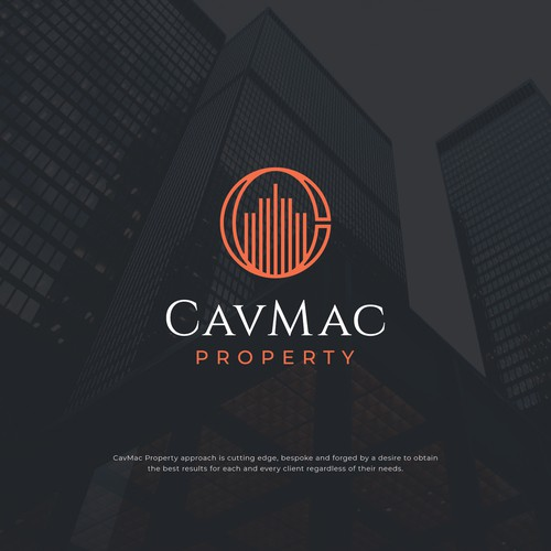 Sophisticated Logo Design for CavMac Property