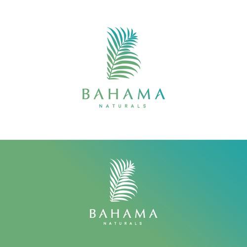 Elegant yet fun logo for Bahama Naturals