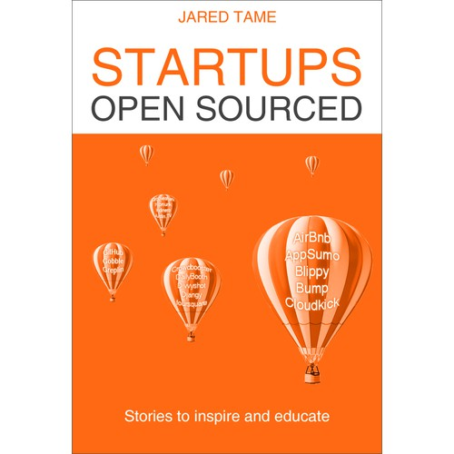 Amazon bestseller Startups Open Sourced needs a new book cover design