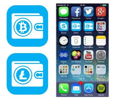 Create Mobile App Icon for Coinbolt Bitcoin Security Software