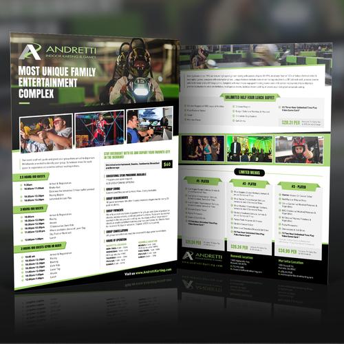 Brochure for Andretti