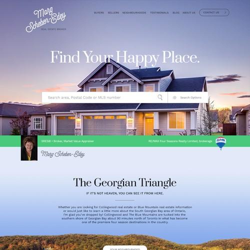 Website for Real Estate Broker