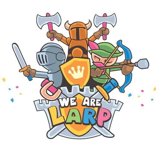 Live action role play logo