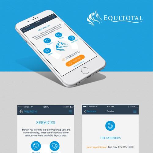 Equitotal App Design