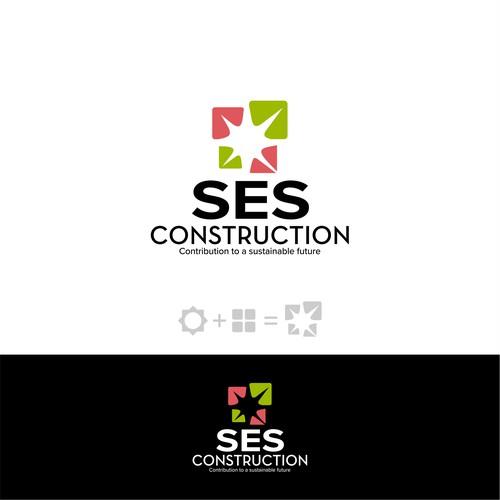 SES Construction Logo