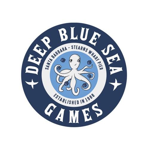 Deep Blue Sea logo design