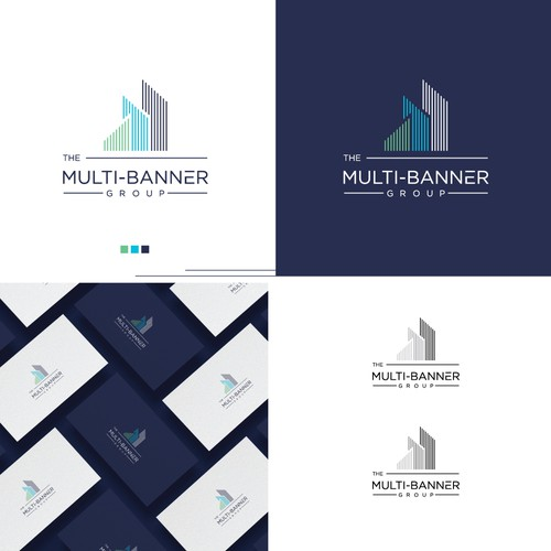 Modern logo for Real Estate firm