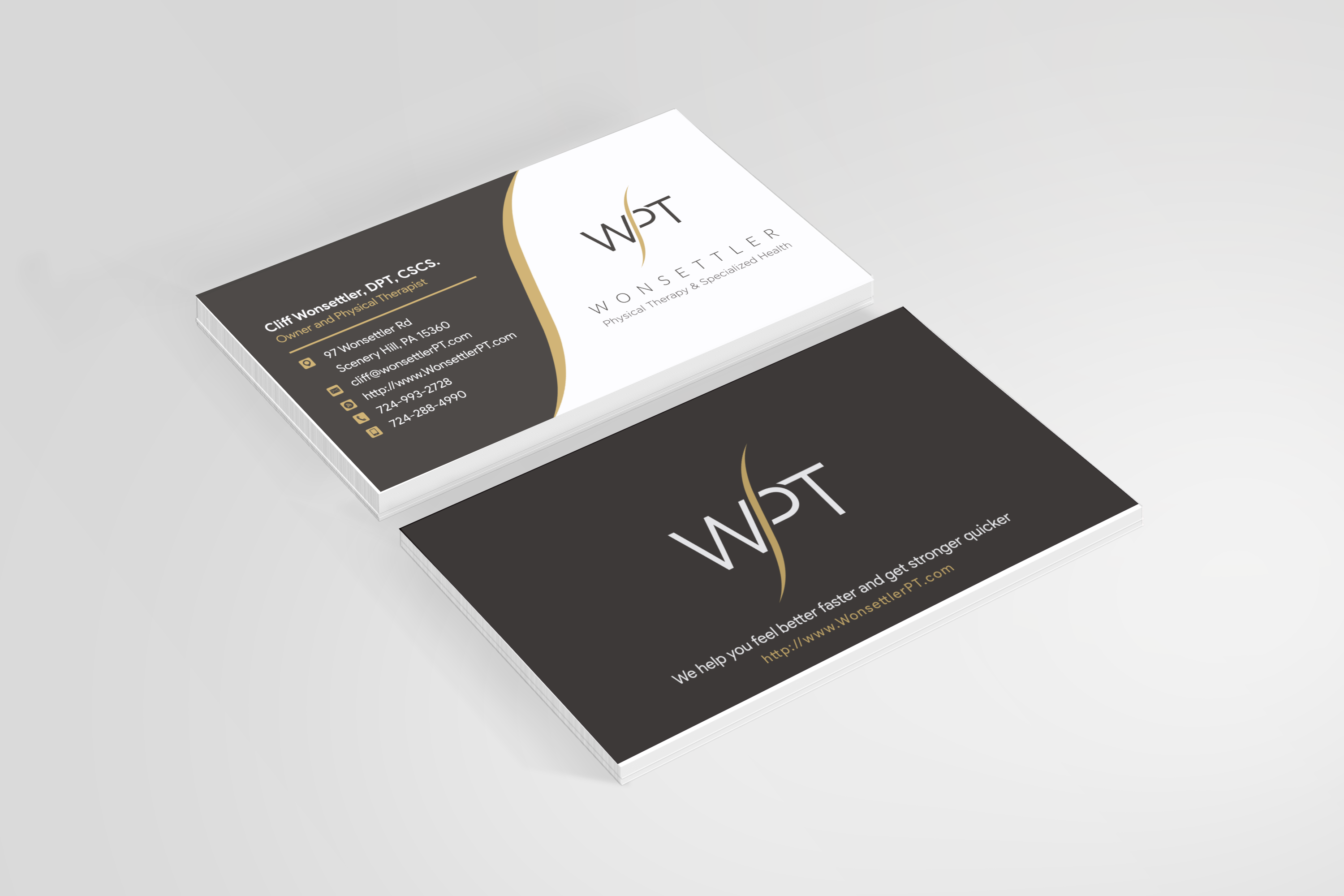 WPT business card