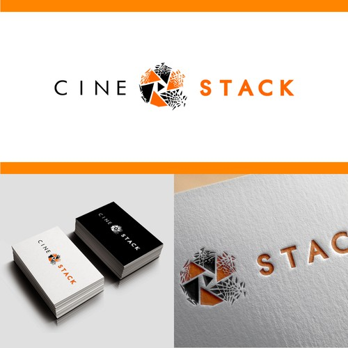 Stylish Logo Concept for a Film Agency