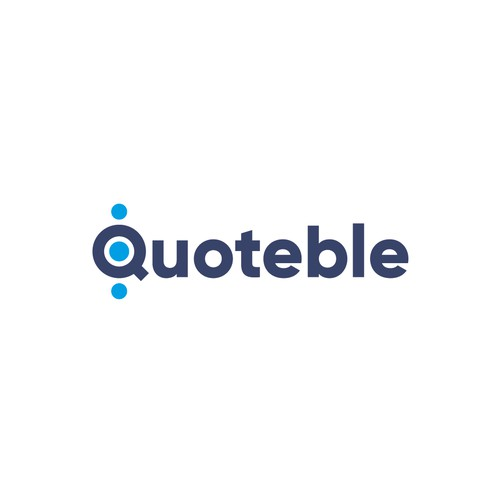 Logo concept for Quoteble