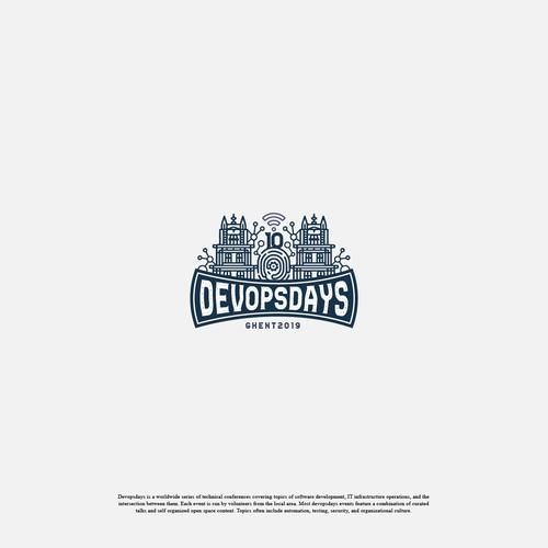 Devopsdays Event 10th Logo Design