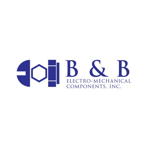 Logo Redesign for B & B Electro-Mechanical Components, Inc.