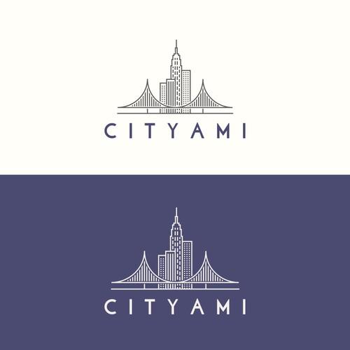 Logo rappresentatne la skyline di NY