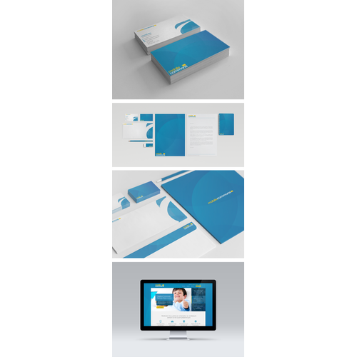 New business card and letterhead for a mobile technology company