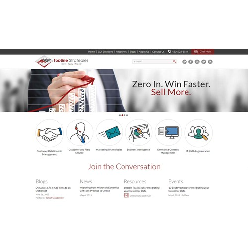 Website Banners for Market-Leading Professional Services Company