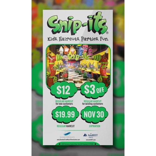 Create an ad for Snip Its