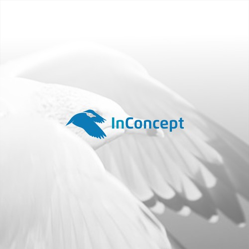 logo with concept bird