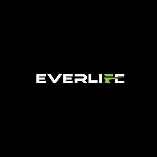 Modern Lettering Logo for Everlife