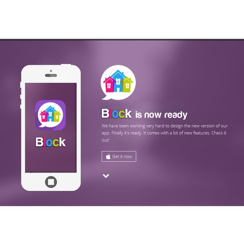 Create a logo for Block - we help connect people in their community and neighborhoods