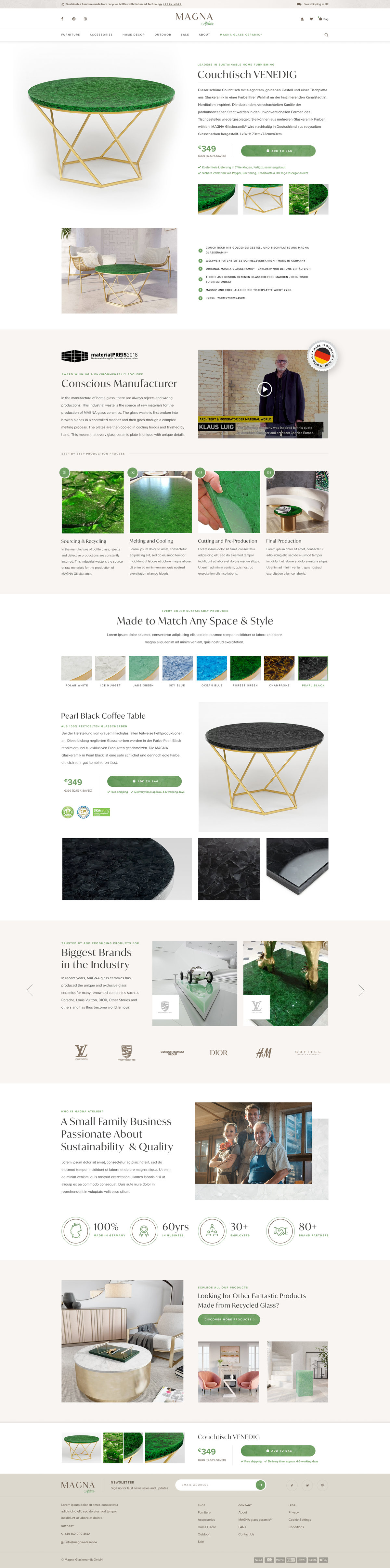 Landing Page Coffee Tables
