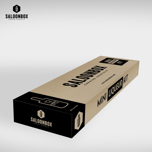 Proposal SaloonBox - New Packaging!