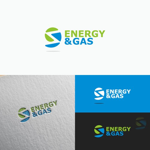 energy and gas logo concept