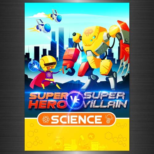 Super Hero vs Super Villain