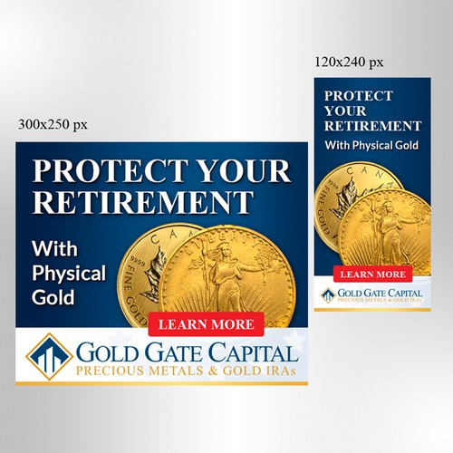 Banner ads for gold gate