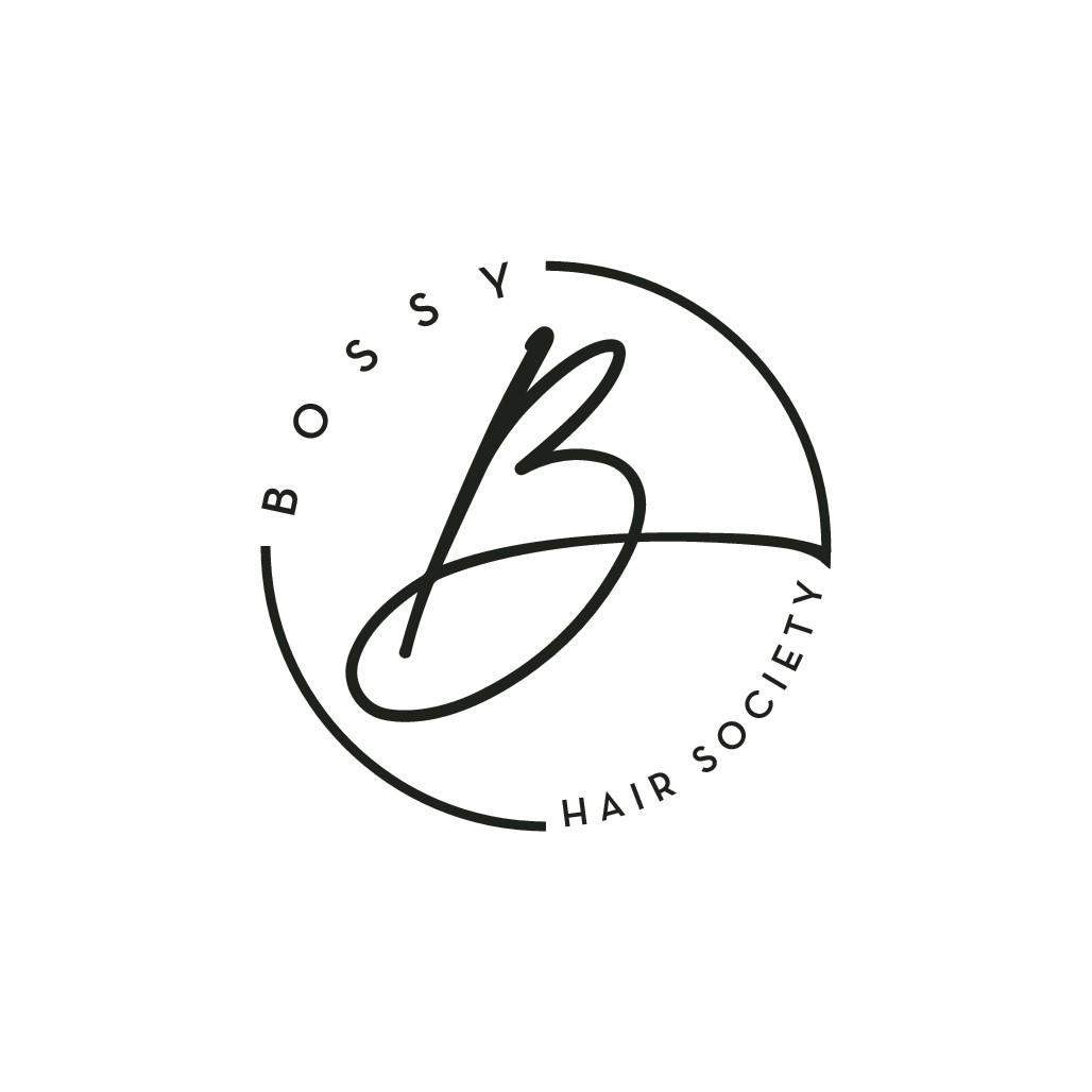 Logo Bossy Hair Society