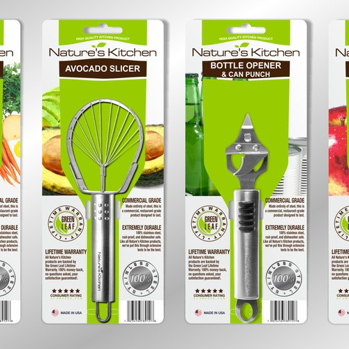 Kitchen product packaging