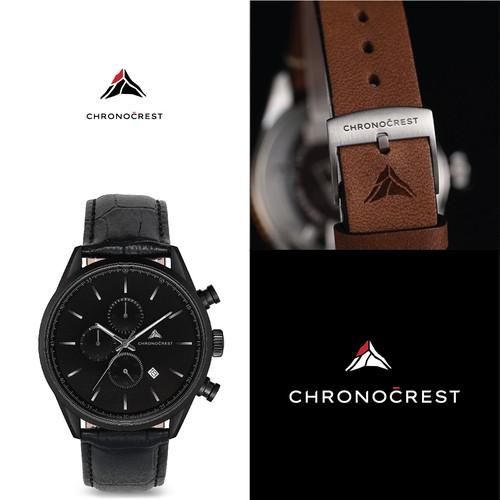 Logo design for minimalist watches brand