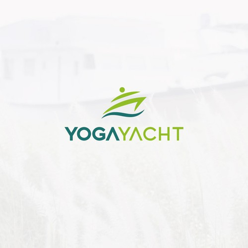 Logo for a Yoga studio in Dubai