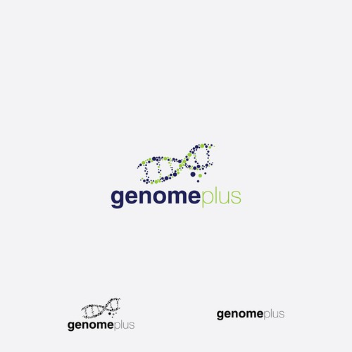 Logo for a genetic testing company.