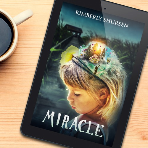 Book cover design for Miracle