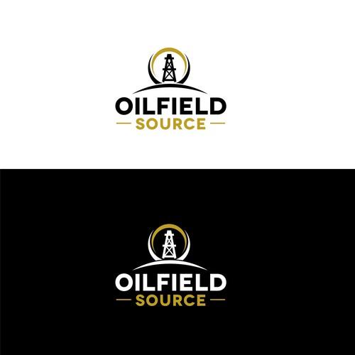 Logo concept for oilfield