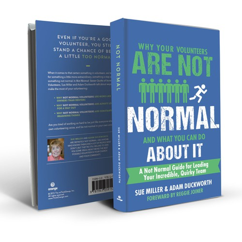 Book cover for Not Normal leaders