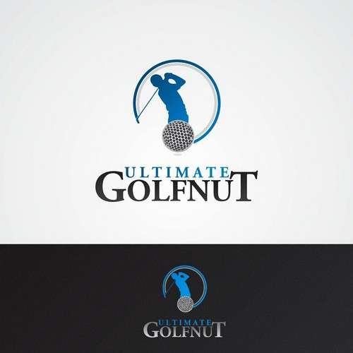 Golf nut Logo