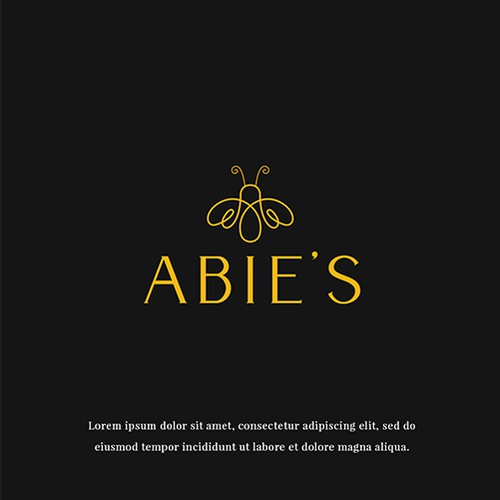 LOGO CONCEPT FOR ABIE'S