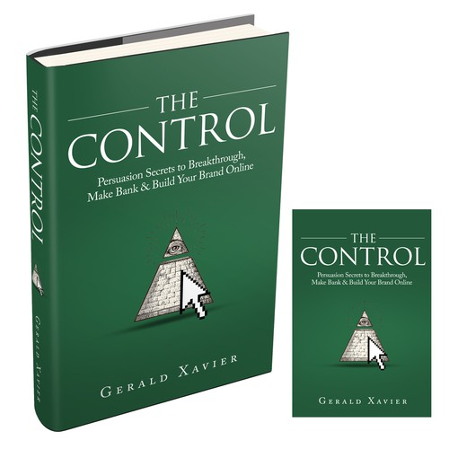 Illuminati-esque Book Cover Design