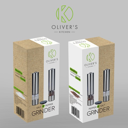 packaging for grinder